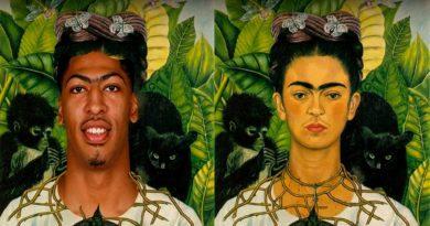 Científicos confirman que Frida Kahlo es la abuela de Anthony Davis.