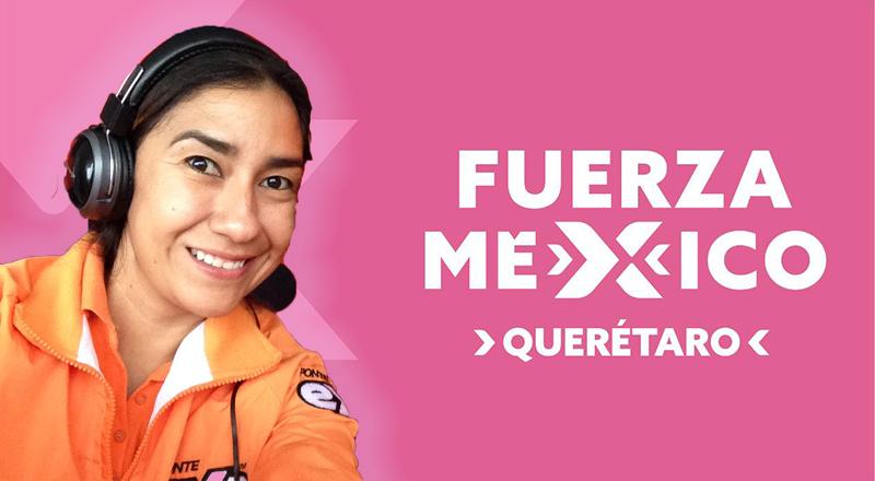 Va el partido Fuerza Social por México con Tere Alcántara por la capital queretana.