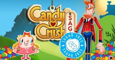 """Lanzan Candy Crush """"sugar free"""", apto para jugadores diabéticos."""