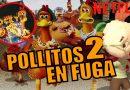 """Ricardo Anaya dará voz a Chicken Little en """"Pollitos en Fuga 2""""."""