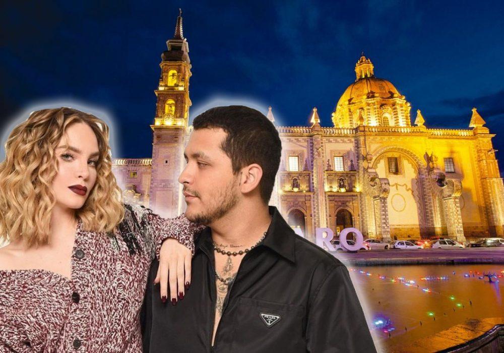 Cristian Nodal y Belinda se casarán en Santa Rosa de Viterbo, Querétaro.